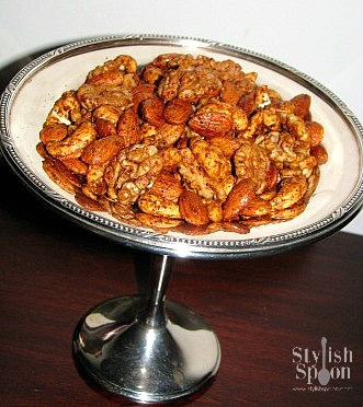 Maple Spiced Nuts | StylishSpoon.com