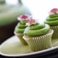 Green Tea Cupcakes & Teapot