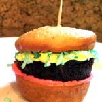 hamburger-cupcake