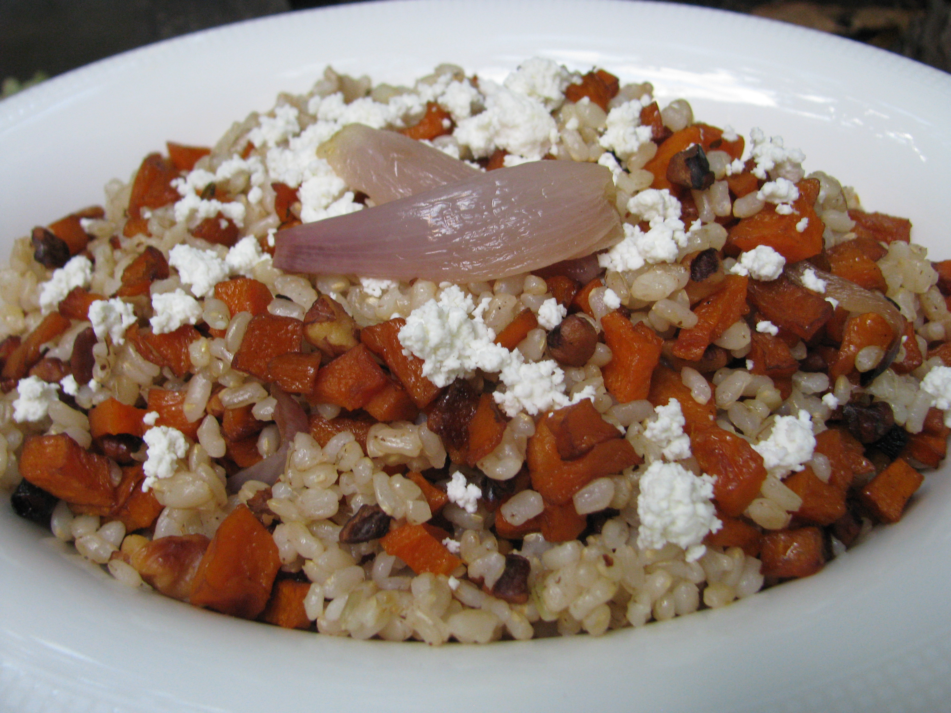 Recipe Brown Rice Salad With Roasted Butternut Squash