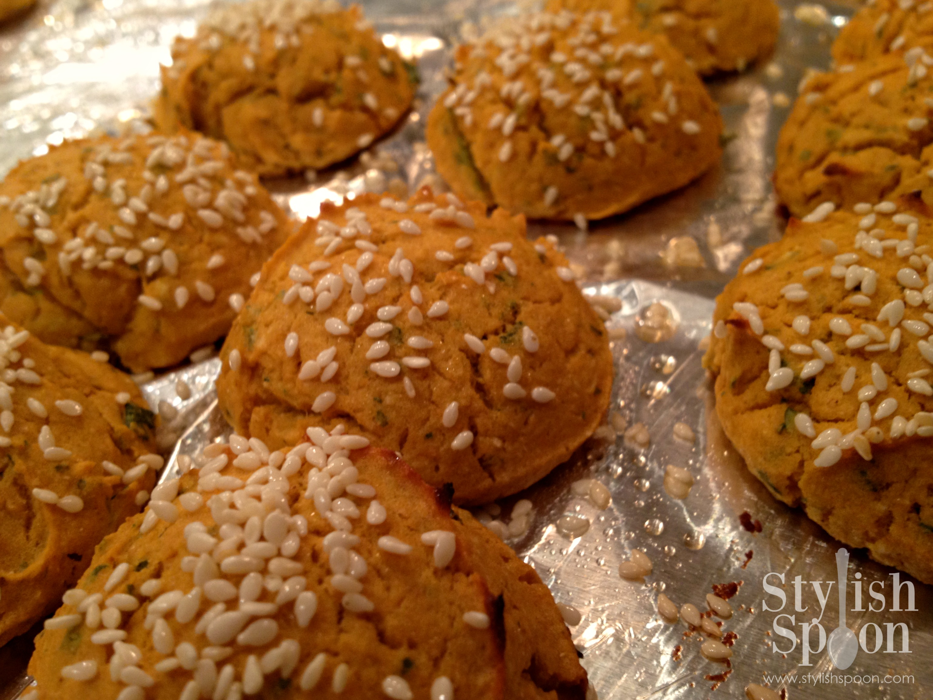 <em>Recipe</em> :: Baked Sweet Potato Falafel