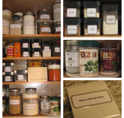 pinterest organized pantry