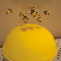 bumble bee cake toppers how-to tutorial sliced alm