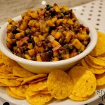 Black Bean & Mango Salsa | www.StylishSpoon.com