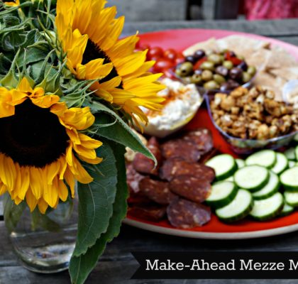 mediterranean make ahead easy weeknight entertaining menu