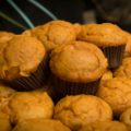 Simple mini pumpkin spice muffins - perfect for Halloween or Thanksgiving | www.StylishSpoon.com