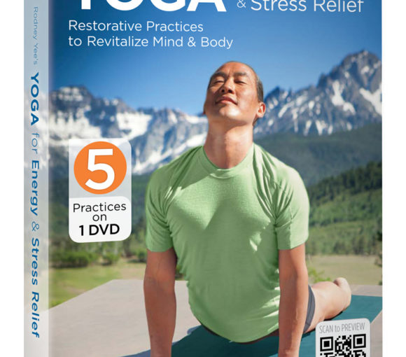 Rodney Yee's Yoga for Energy & Stress Relief DVD - a restorative and relaxing at home yoga practice - Stylish Spoon's 2013 Holiday Gift Guide | www.StylishSpoon.com