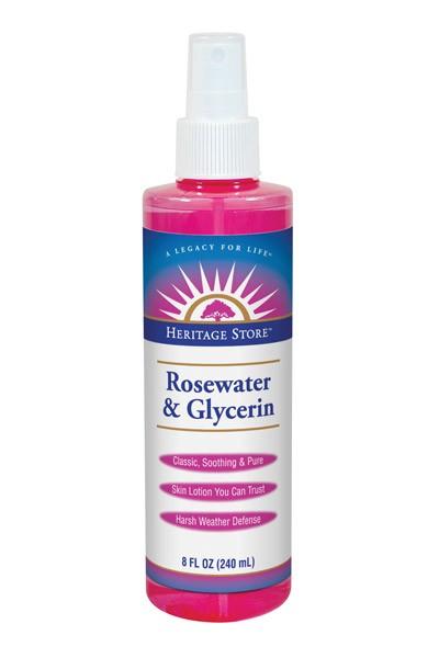 Heritage Store Rosewater & Glycerin Spray | www.StylishSpoon.com