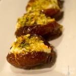 Ricotta and Pistachio Stuffed Dates with Orange