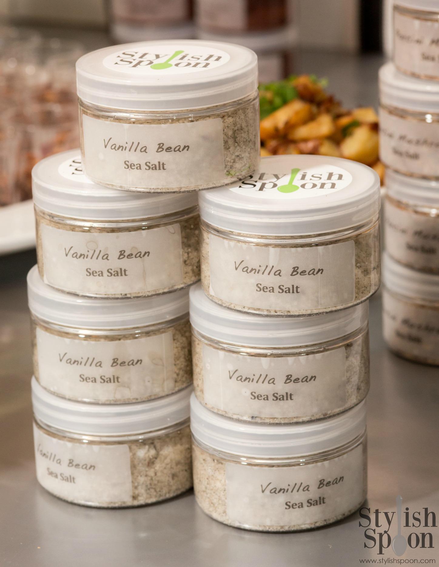 Vanilla Bean Sea Salt — Stylish Spoon
