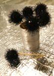 DIY Sparkly Pom Pom Toothpicks & Holder | www.StylishSpoon.com