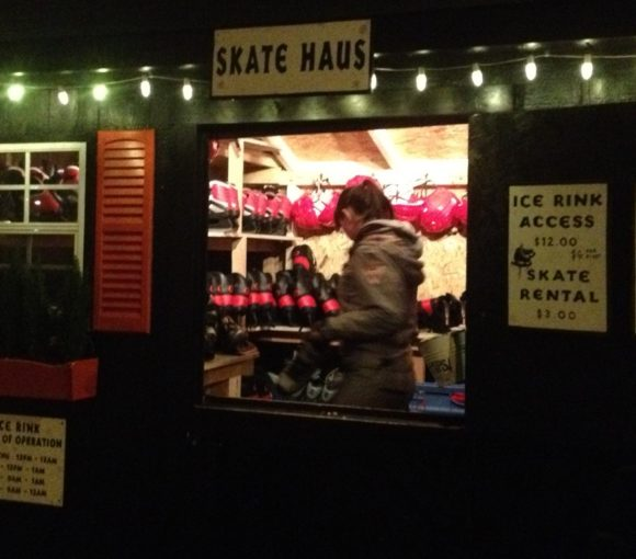 Skate Haus at the Standard Hotel Popup Ice Rink in NYC | www.StylishSpoon.com