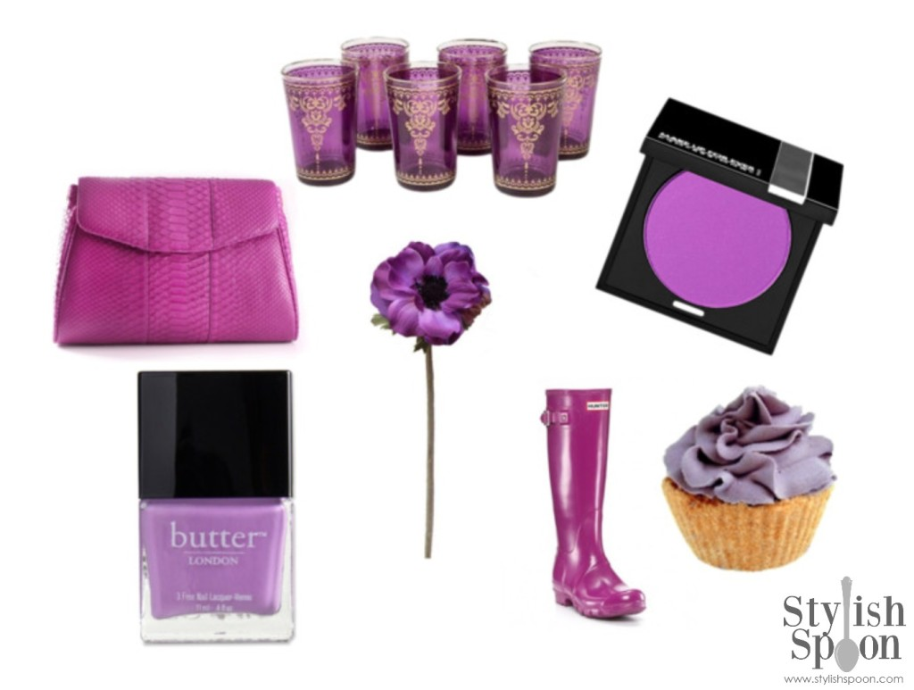Radiant Orchid 2014 Pantone Color of the Year | stylishspoon.com