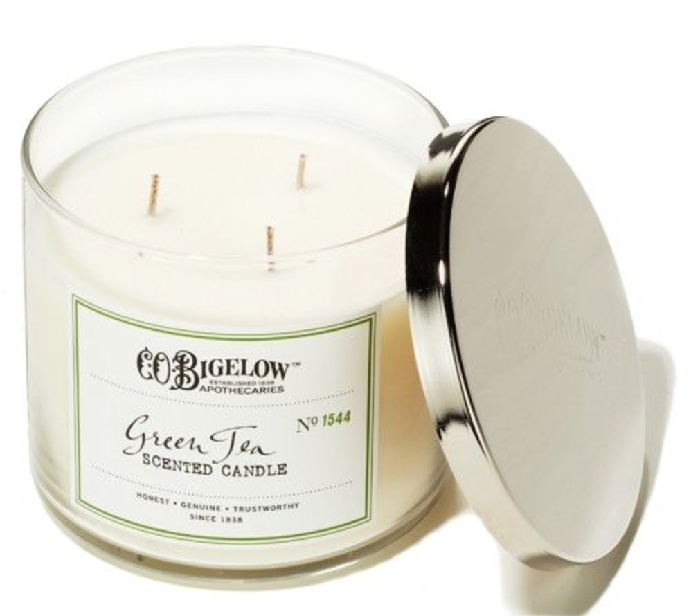 C.O. Bigelow Green Tea Three Wick Scented Candle