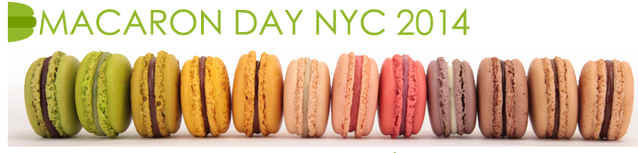 Macaron Day NYC 2014 - free macarons from participating bakeries on March 20, 2014 | StylishSpoon.com