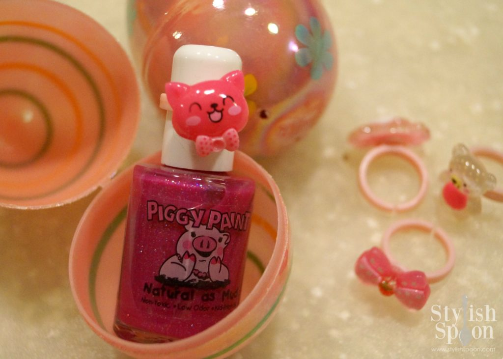 Piggy Paint Nail Polish & Plastic Ring Easter Egg Fillers | stylishspoon.com