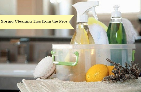 Spring Cleaning Tips from the Pros | stylishspoon.com