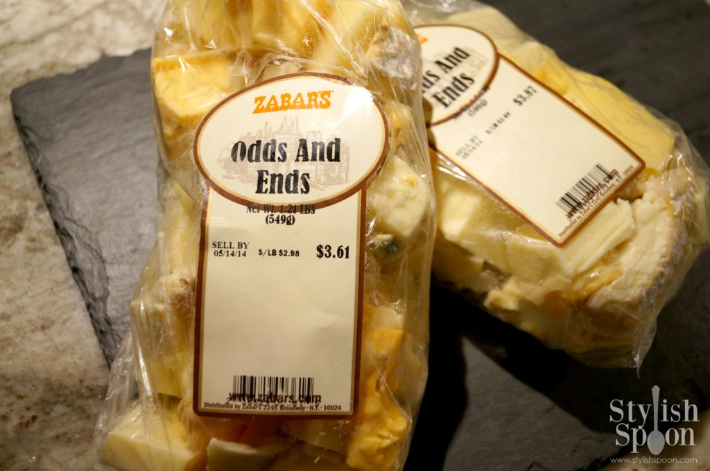 Frugal Friday Find: Odds And Ends Gourmet Cheese Pieces from Zabars | stylishspoon.com
