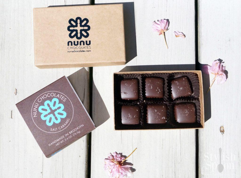 Nunu Chocolates Salt Caramel | stylishspoon.com