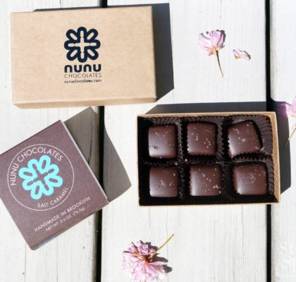 Nunu Chocolates Salt Caramel | stylishspoon.com