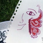 Face paint template