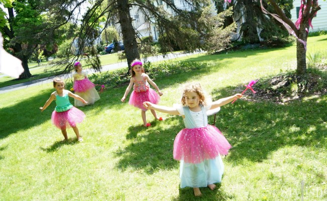 <em> Kids Parties </em> :: Pink Princess Birthday Party