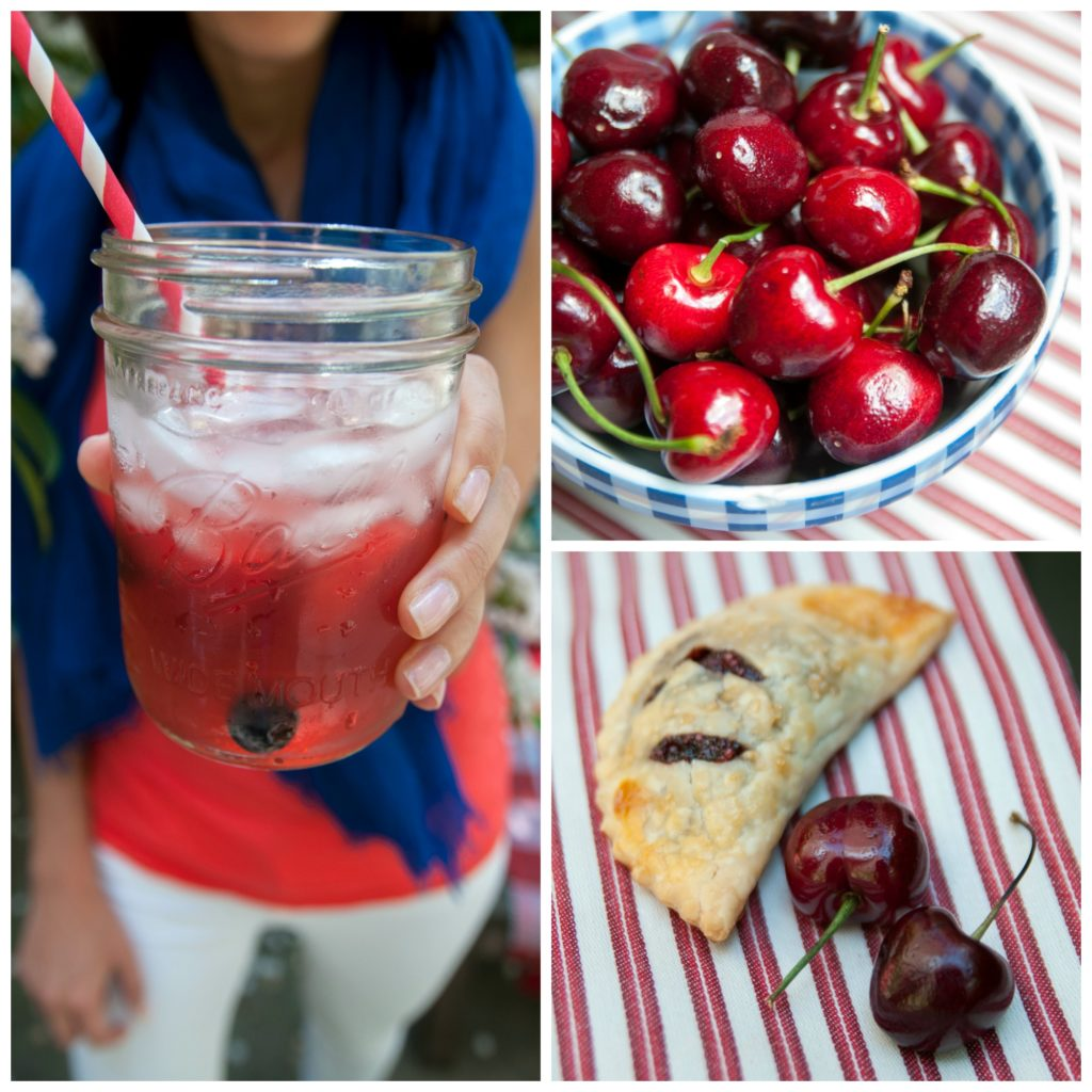 4th of July Cherry Hand Pies & Sangria