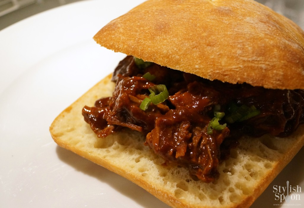 BBQ Beef Brisket Sandwiches Recipe | stylishspoon.com