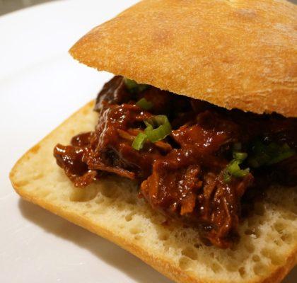 BBQ Brisket Sandwich Recipe | stylishspoon.com