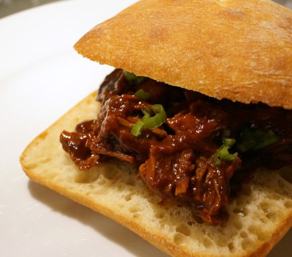 BBQ Brisket Sandwich Recipe | stylishspoon.com