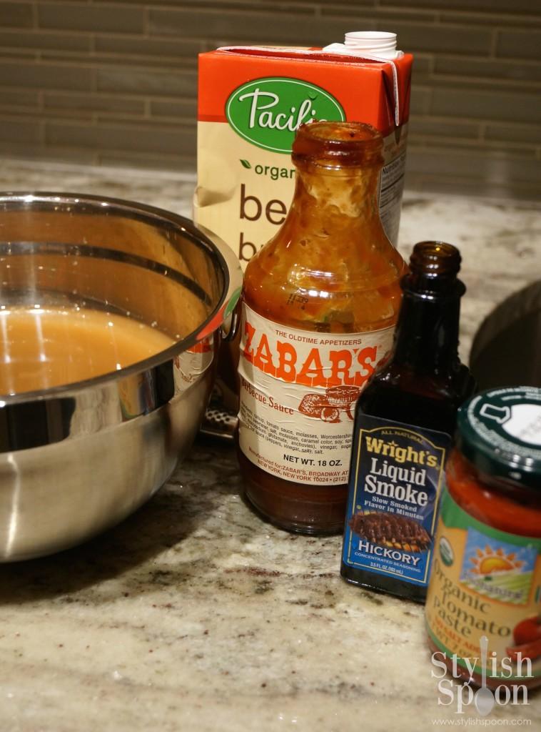 BBQ brisket ingredients | stylishspoon.com
