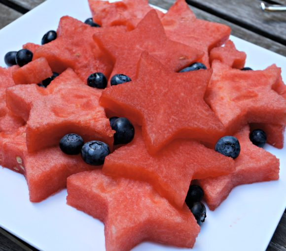 Star Shaped Watermelon for the 4th of July - Patriotic Food