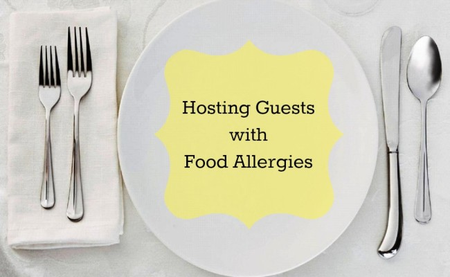 <em> Party Problem Solved </em> :: Hosting Guests with Food Allergies