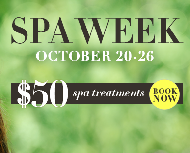 spa week 2014 october