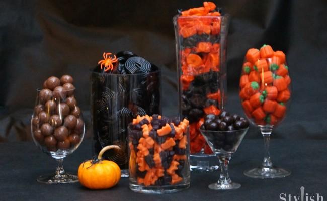 <em> Halloween </em> :: Grownup Candy Buffet