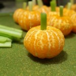 clementine pumpkins kids party snack halloween healthy thanksgiving fall