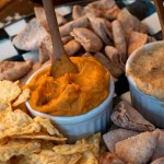 Vegan sweet potato spread thanksgiving organic healthy appetizer