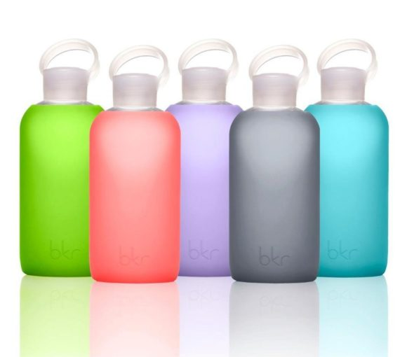bkr - stylish glass water bottle