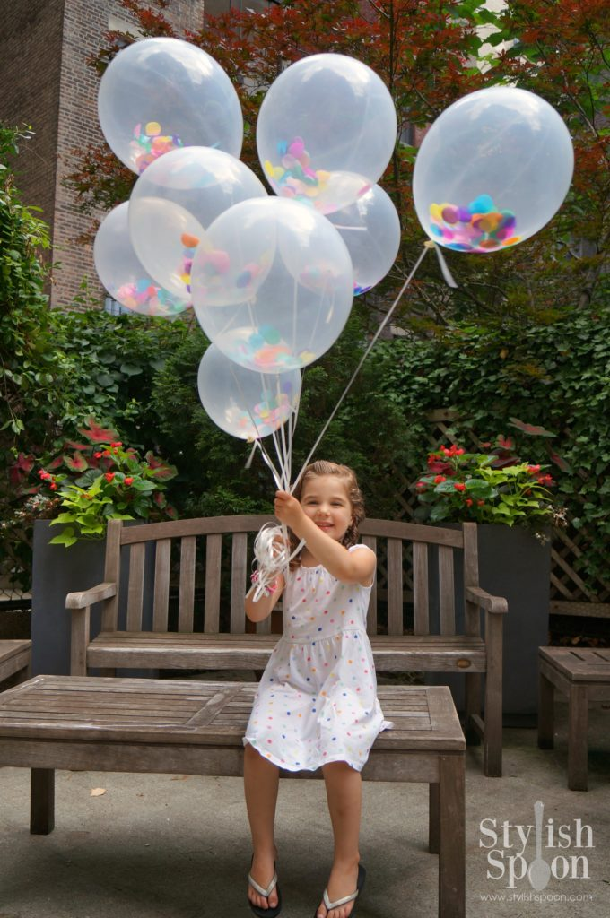 DIY Sprinkle Balloons