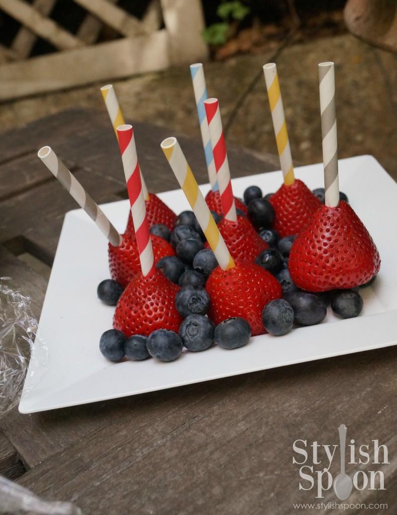 Sprinkle Strawberry Pops