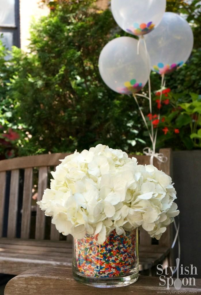 sprinkle vase filler flowers