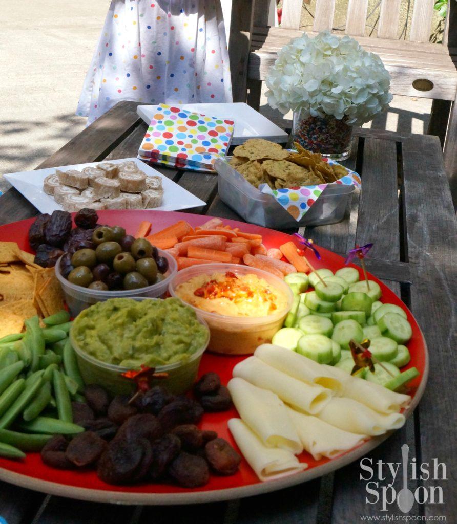 sprinkle party food