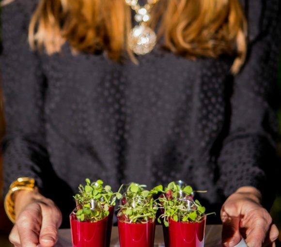 Ladies Night Watermelon Beet Shooters