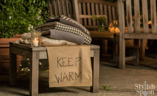 <em> Party Problem Solved </em> :: Outdoor Entertaining {Keep Warm}