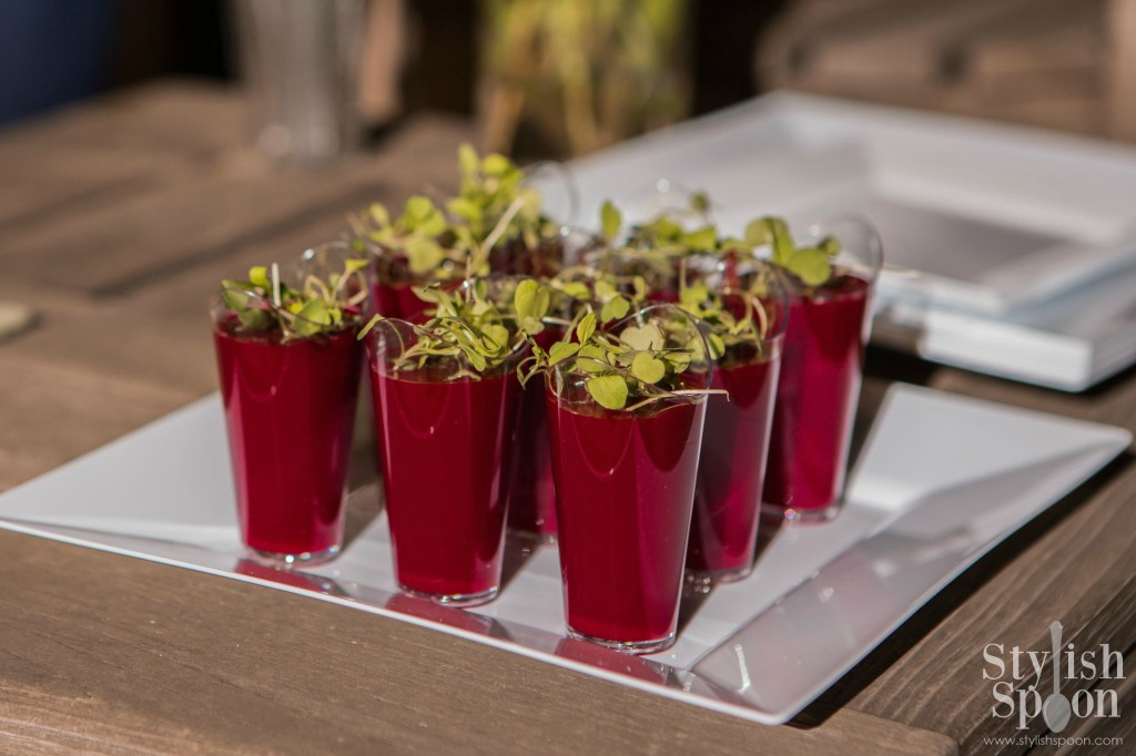 beet watermelon soup healthy summer chilled soup