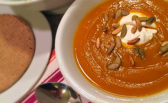 <em> Recipe </em> :: Vegan Butternut Squash Soup