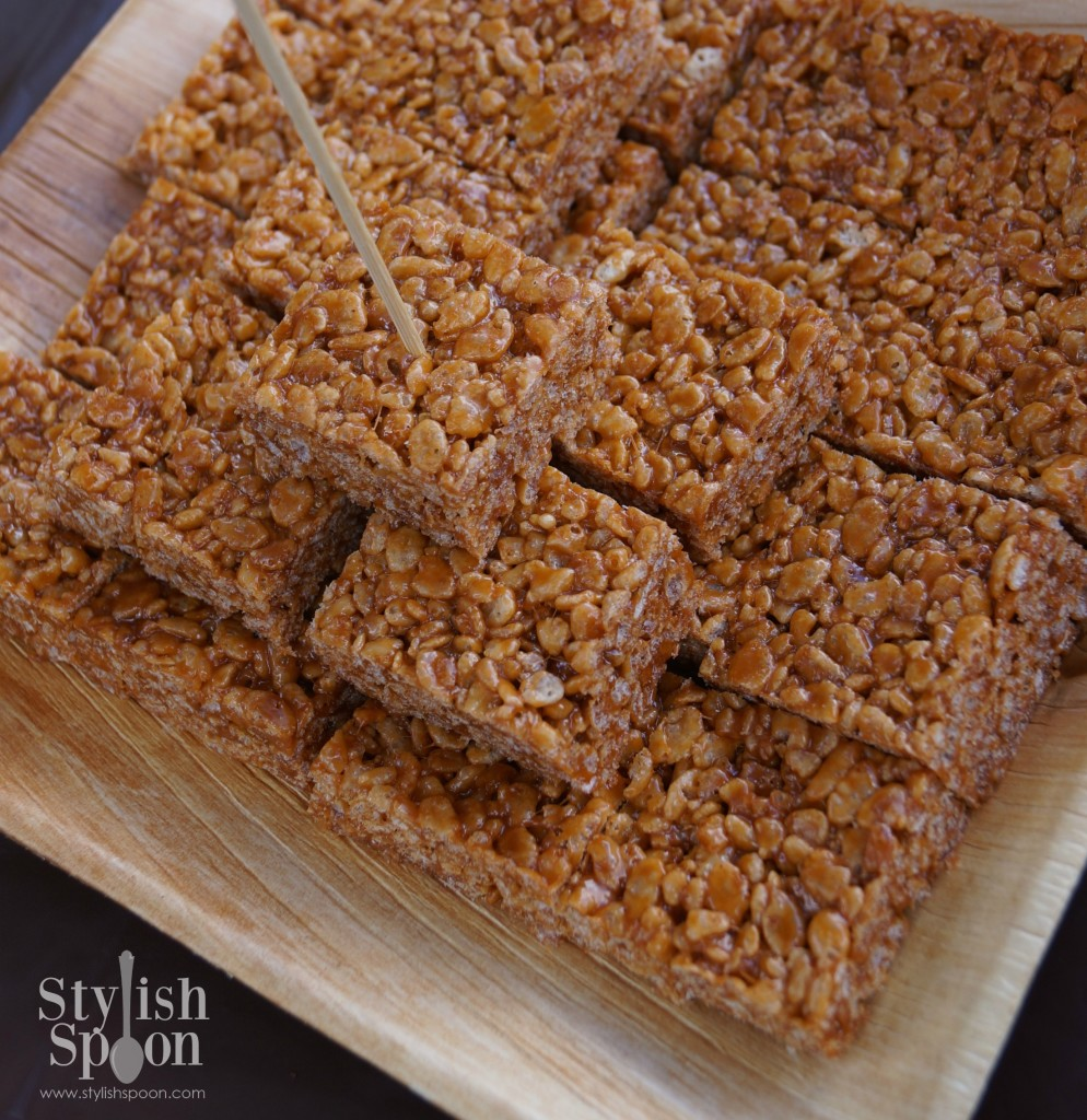 pumpkin spice rice krispies treats 2