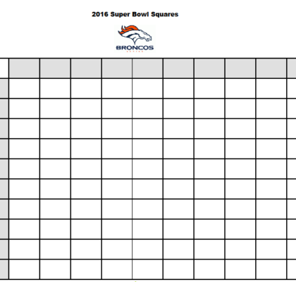 2016 free printable betting squares template super bowl