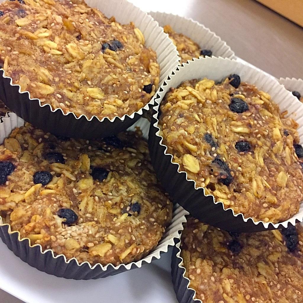 oatmeal muffins healthy breakfast