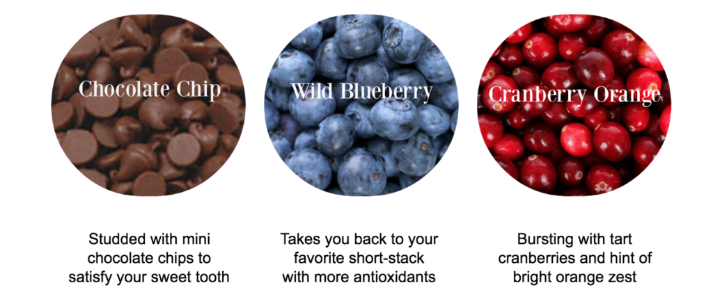 3 flavors cranberry